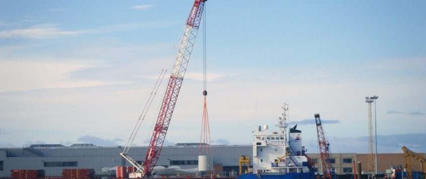 La Coruna Port reached its historical record